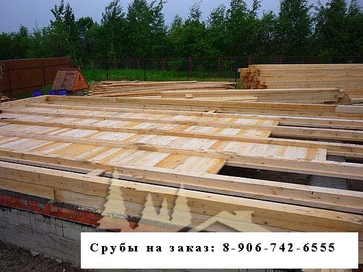 Строительство дома из бруса 9х12 м