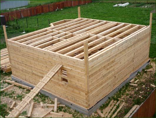 Как строить дом из бруса своими руками проекты фото